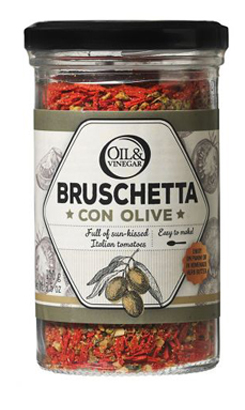 BRUSCHETTA WITH OLIVES